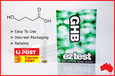 EZ TEST BLISTER FOR GHB (Free Tracked Shipping)