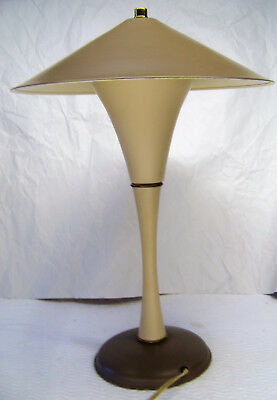 Vintage Mid Century Modern Atomic Desk Lamp Space Age Jetson Look