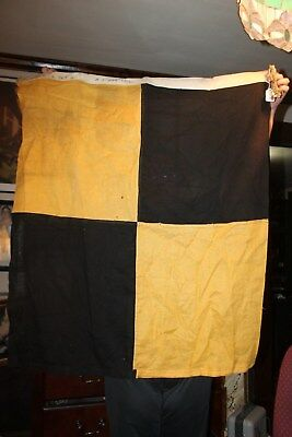 "Jan 1943 World War II WWII M1 Signal FLAG 32""x37"" Alphabet ""L"" Set G US Navy"