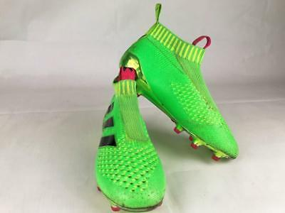 the latest f26c7 31d7e ADIDAS ACE 16 Purecontrol Football Boots - Green - Laceless - UK Size 3