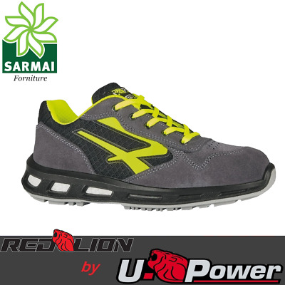 Scarpe Antinfortunistica UPOWER Red Lion YELLOW S1P SRC U-Power RedLion Tela
