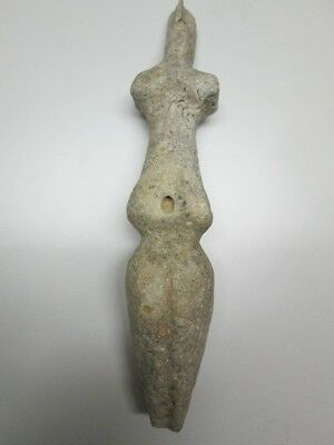 Neolithic marble Mother Goddess idol w/COA