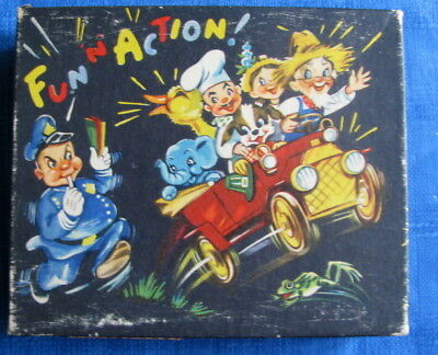 Rare Lot Of 10 Unused Fun N Action Pop Up Vintage Greeting Cards & Box Cats