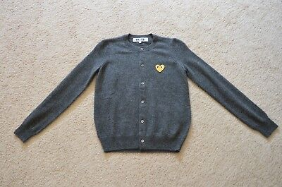 Play by CDG Wool Cardigan Size S