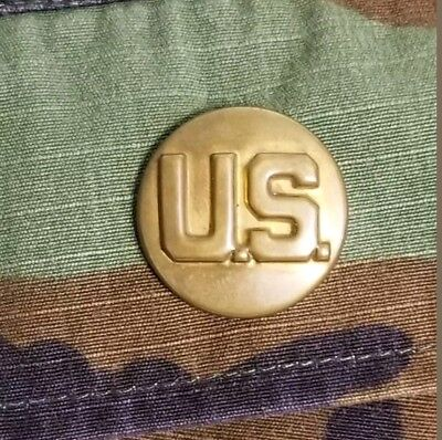 Vintage Antique Brass U.S. Military Pin DOMAR G-I Rare Army Christmas Gift Mens