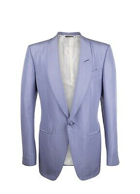Tom Ford Silk 38US/48EU Shawl Collar Evening Jacket Lavender Purple