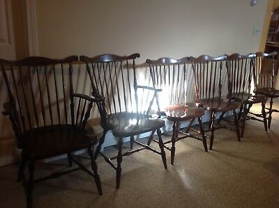 Harden Cherry Chairs (6) and Tea Trolley - pre-owned