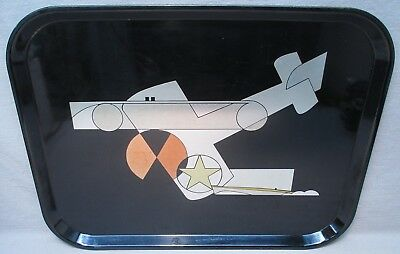 George Switzer Art Deco Machine Age Westinghouse Micarta Tray, Plane Boat Car
