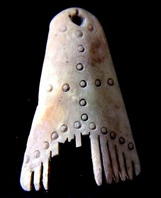 Rare Unique Viking Cattle/domestic Animal Bone Comb 900-1100 Ad