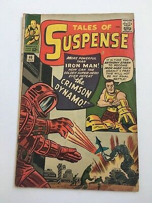 Tales of Suspense #46 1963 Early Iron Man VG