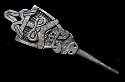 Viking Period Silver Odin Face Mount 1000-1100 AD