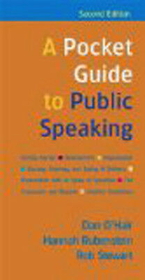 Pocket Guide To Public Speaking  - by O'Hair