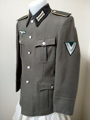 WWII German Wehrmacht Uniform Tunic Reproduction Size M44