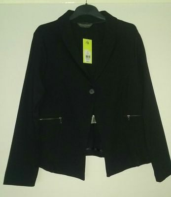bnwt Mothercare Blooming Marvellous Black Jacket. Size 12 Bnwt