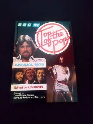 Top of the Pops Annual 1978 Vintage Music Hardback