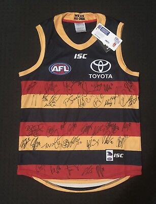 Adelaide Crows 2018 Signed Guernsey
