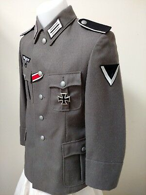 WWII German Wehrmacht Uniform Tunic Reproduction Size SK44