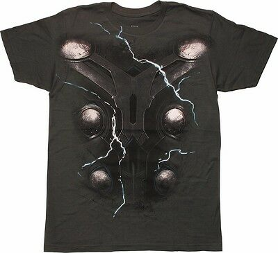 Marvel THOR COSTUME / Muscle T-shirt -AGE OF ULTRON - SIZE LARGE - NWT