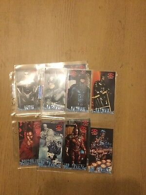 Batman And Robin Trading Cards Set Of 12 Profile Cards