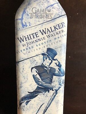 WHITE WALKER BY JOHNNIE WALKER GAME OF THRONES OFFICIAL **Extremely Rare Edition