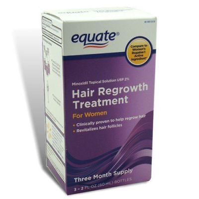 Equate - Hair Regrowth Treatment for Women with Minoxidil 2%, 3 Month Supply 3