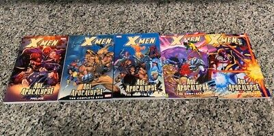 X-Men Age of Apocalypse TPB (Complete including the prelude)