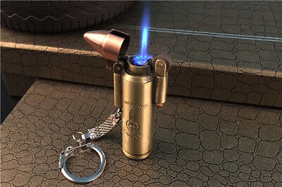 Creative Bullet Cigarette Lighter Metal Windproof Flame Gas Military Gift