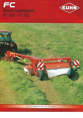 NEW LISTING - Kuhn FC Trailed Mowers Sales Brochure  - 2007