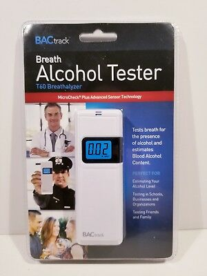 BACtrack Breath Alcohol Tester T60 portable Breathalyzer