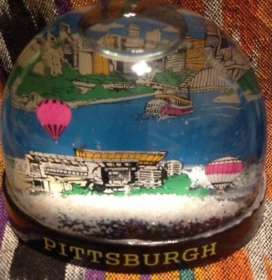 "Snow Dome/globe  ""pittsburgh"""
