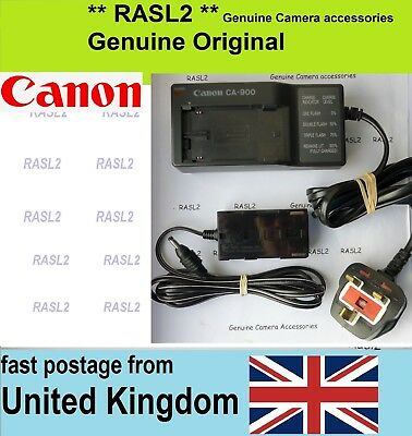 Genuine Original Canon CA 900 Charger Compact Power Adapter DC