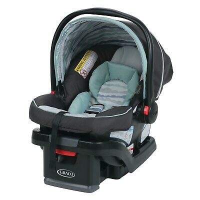 New Graco SnugRide SnugLock 30 Infant Car Seat lovey and safe fast shipping