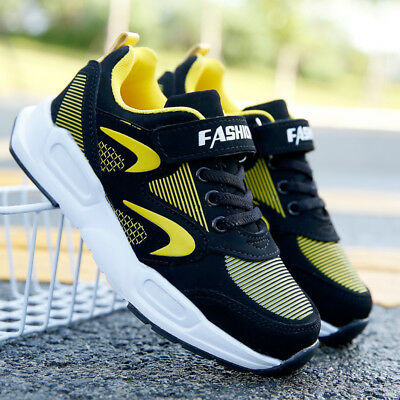 Kids Boys Girls Running Shoes Sports Athletic Sneaker Trainers Light Weight