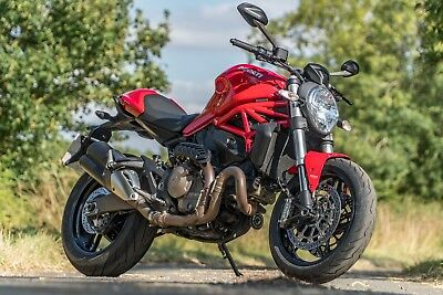 2014 Ducati Monster 821 , 10k , FSH , Excellent Condition , ABS DTC