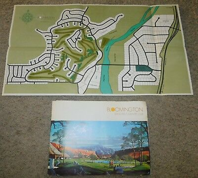 1960's Bloomington Ranches Country Club Sale Brochure ST GEORGE UTAH Ivory Boyer