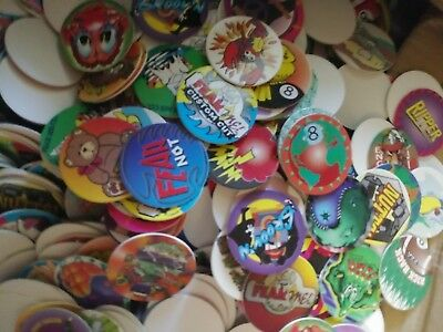 Huuugeee lot Of 1000 Random and Assorted ***POGS!! 90s Game /& Collectables