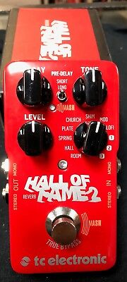 TC ElectronicHall of Fame 2 Reverb Effects Pedal Authorized Dealer