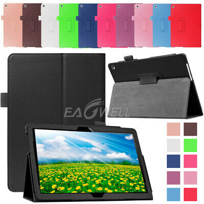 """For iPad 6th Generation 9.7"""" 2018 Folio Magnetic Flip Leather Smart Cover Case"""