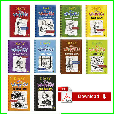 EB00K [PDF] Diary Of A Wimpy Kid by jeff kinney complete collection 1-10 Emailed