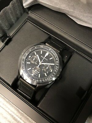 Bulova 98A186 Special Edition Lunar Pilot Moon Watch Full Set Brand New