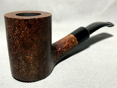 Road Town Cannon Poker Style Briar wood craft pipe-unsmoked