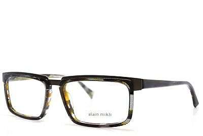 2d00085ced47 Alain Mikli Eyeglasses 2016 C014 54-16-145 New Authentic without case