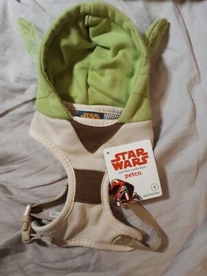 Petco Star Wars Yoda Hoodie Harness for Dog Various Sizes