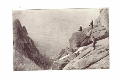 Australia Postcard, Lookout from BUFFALO GORGE  Vic