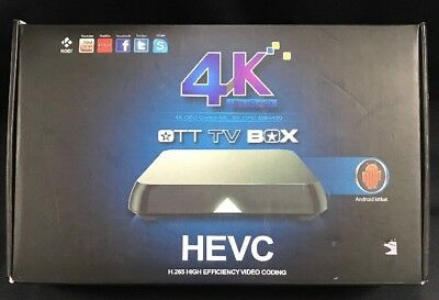 KODI HEVC OTT TV Box 4K 4x CPU Cortex A-9 Internet Smart System