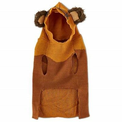 Petco Star Wars Ewok Hoodie Sweater for Dog Various SIzes