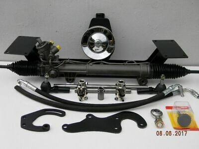 49 50 51 52 53 54 Chevy Power Steering Conversion SBC or 6