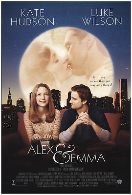 Alex & Emma 2003 27x40 Orig Movie Poster FFF-71637 Rolled Fine, Very Good