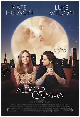 Alex & Emma 2003 27x40 Orig Movie Poster FFF-71512 Rolled Luke Wilson