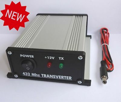 432 to 28 MHz ASSEMBLED TRANSVERTER WITHOUT ATTENUATOR 70cm 432mhz 433 VHF UHF